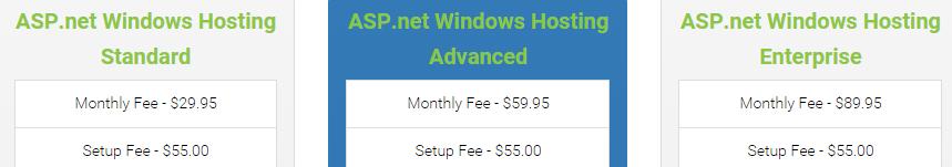 AusTiger ASP.NET Pricing Plan