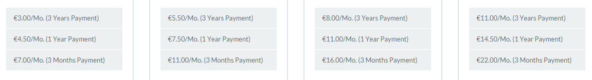 HostForLIFE ASP.NET hosting pricing